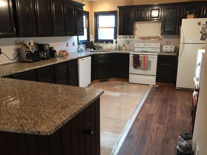 From Kitchen Island Peninsula Remodel Hometalk