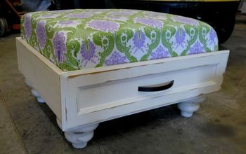 Ever Wanted to Make One of Those Dresser Drawer Ottomans?