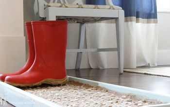 How to Make a Cobblestone Boot/Shoe Tray
