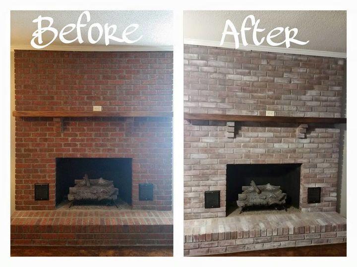 le vintage soul fixes a fireplace for santa s arrival, fireplaces mantels, painting