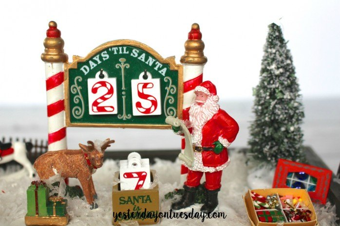 christmas countdown calendar christmas decorations crafts