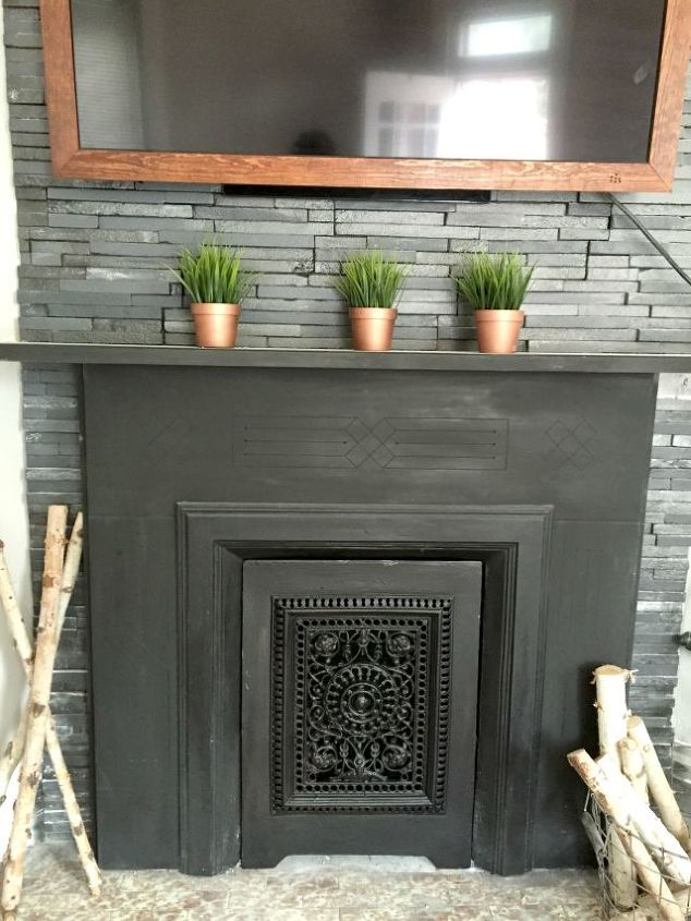 diy 40 wood tv frame works for tvs that tilt and rotate too, concrete  masonry