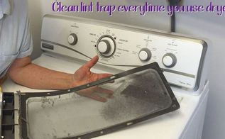 dryer maintenance, appliances, cleaning tips, home maintenance repairs, how to, laundry rooms
