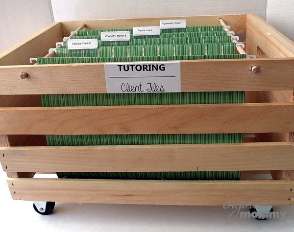 diy open top rolling filing cabinet, crafts, home office, organizing, repurposing upcycling, storage ideas
