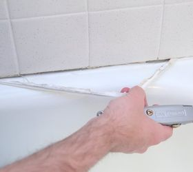 How To Caulk Your Shower, Bathroom Ideas, Home Maintenance Repairs, How To