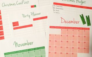 organize your christmas planning, organizing