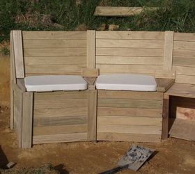 Fabulous How To Build Combined Garden Modular Seating Retaining Wall Pabps2019 Chair Design Images Pabps2019Com
