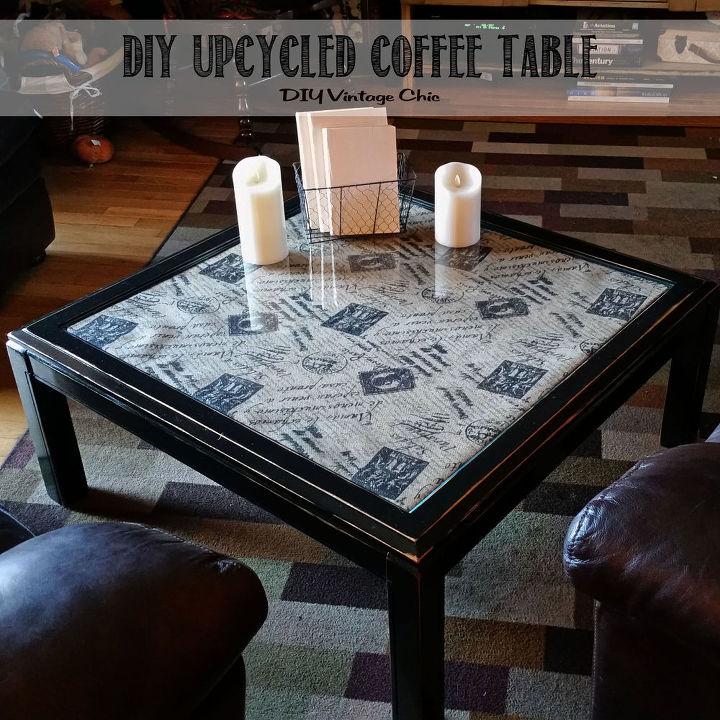 Diy Upcycled Coffee Table Hometalk