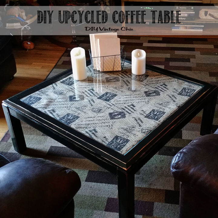 Diy Upcycled Coffee Table Painted Furniture