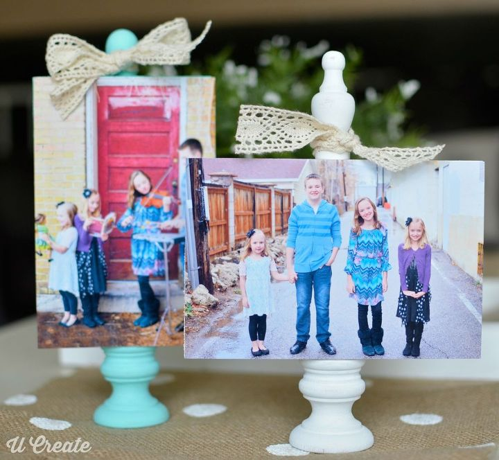 diy wooden block photo frames crafts decoupage - Wooden Picture Frames To Paint
