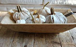 how to make velvet pumpkins, crafts, how to, seasonal holiday decor, thanksgiving decorations, Bread Bowl with Pumpkins