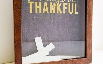 Thanksgiving Gratitude Frame