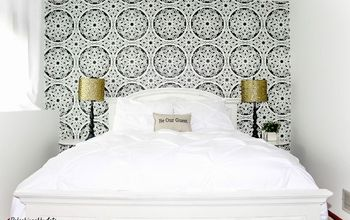 guest room reveal, bedroom ideas, home decor