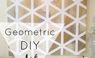geometric art, crafts, wall decor
