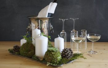 moss ball planters, crafts, gardening, how to