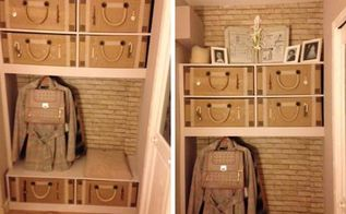 entrance partition made nice, diy, organizing, storage ideas