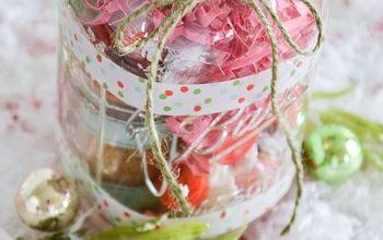 Tea Lover's Mason Jar Christmas Gift DIY