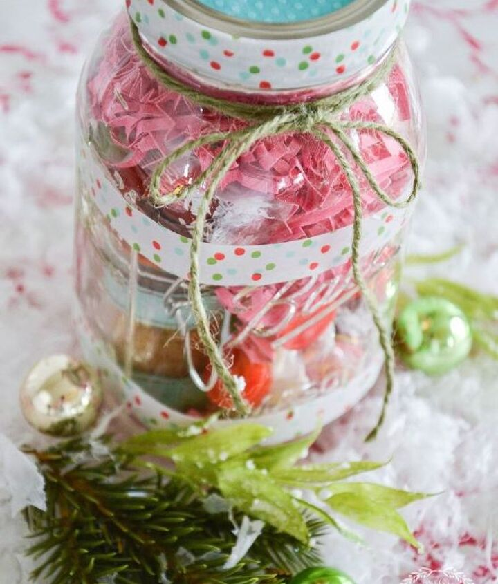 tea lover s mason jar christmas gift diy, crafts, mason jars