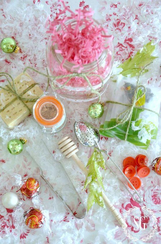 tea lover s mason jar christmas gift diy, crafts, mason jars