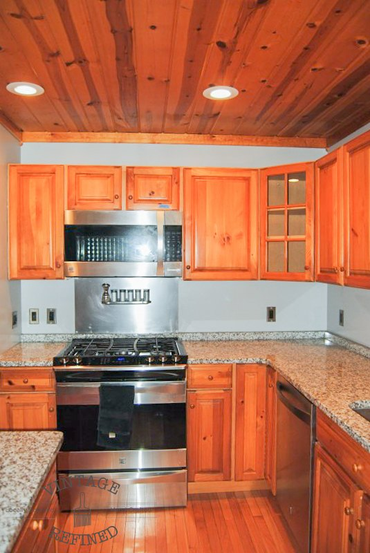 kitchen makeover chalk painting kitchen cabinets, chalk paint, home improvement, kitchen design, painting