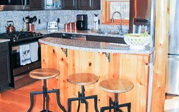 Kitchen Makeover - Chalk Painting Kitchen Cabinets