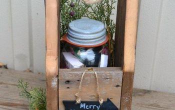 DIY Wood Gift Bag For Mason Jar Gift For Teachers