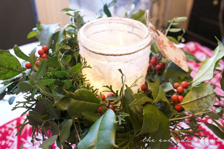diy iced mason jar candles, christmas decorations, crafts, mason jars, seasonal holiday decor