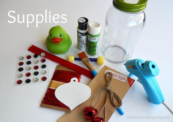 Polka Dot Mason Jar Christmas Gift for Baby Girl | Hometalk