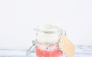 diy peppermint sugar scrub, crafts, diy, mason jars, seasonal holiday decor