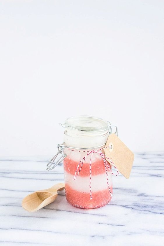 diy peppermint sugar scrub, crafts, diy, mason jars, seasonal holiday decor