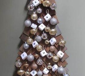 Attrayant Diy Wood Christmas Tree And Advent Calendar, Christmas Decorations, Diy,  Seasonal Holiday Decor