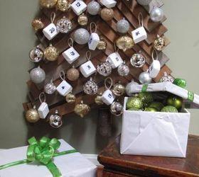Diy Wood Christmas Tree And Advent Calendar, Christmas Decorations, Diy,  Seasonal Holiday Decor