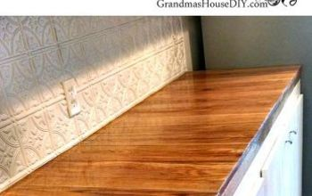 The Horror Story of My Oak Counter Tops and How I Fixed Them!