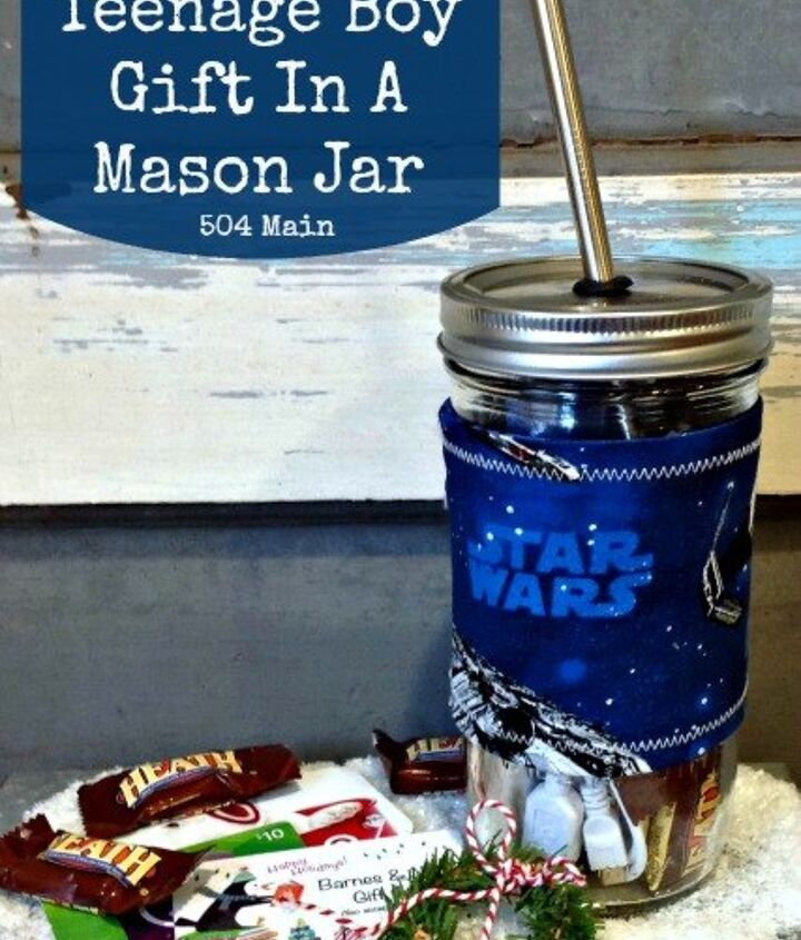 gifts in a mason jar teenage boy, crafts, mason jars
