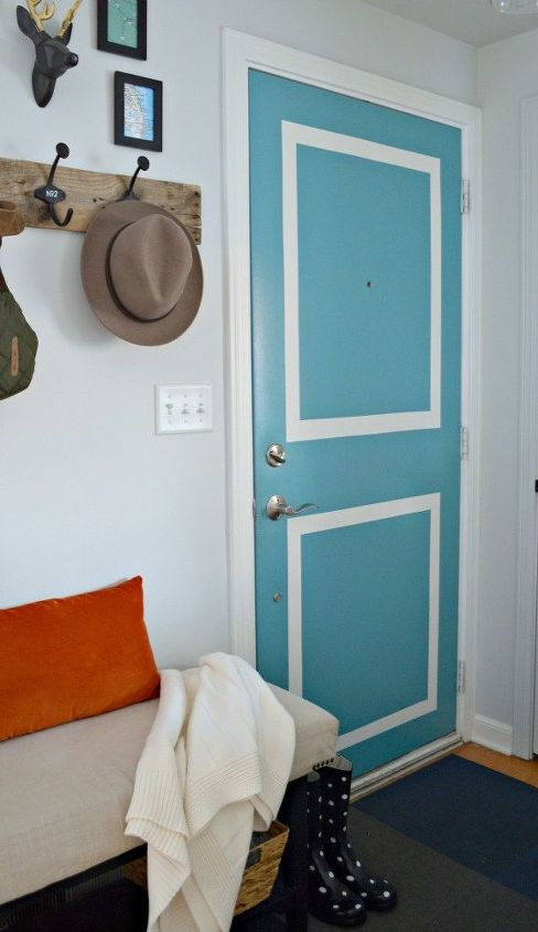 small entryway updates paint decor, foyer, home decor, paint colors, painting, wall decor