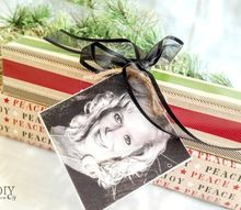 holiday gift wrapping finishing touches, christmas decorations, crafts, seasonal holiday decor