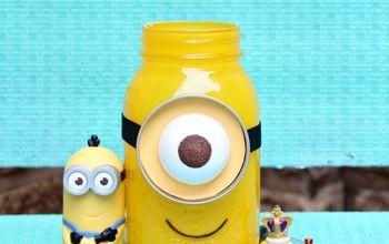 Minion Mason Jar Gift