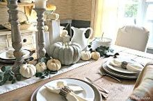 thanksgiving table for a hostess on a budget, crafts, thanksgiving decorations