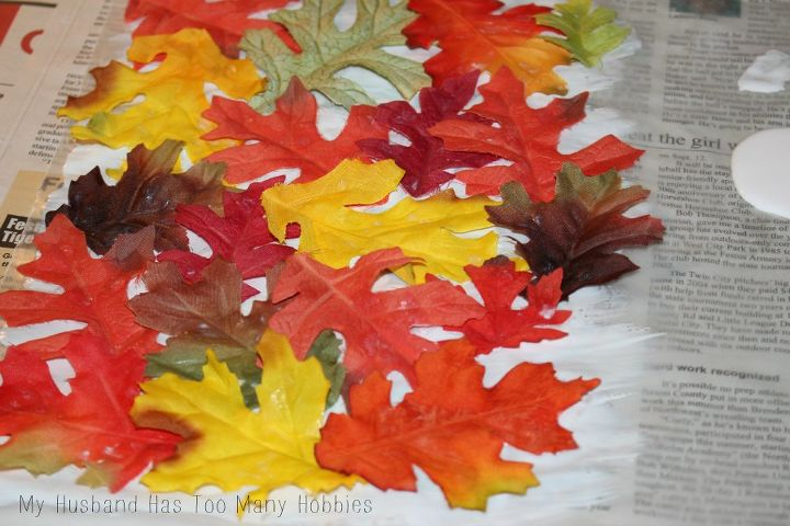 fall leaf tree luminaries, crafts, seasonal holiday decor, thanksgiving decorations