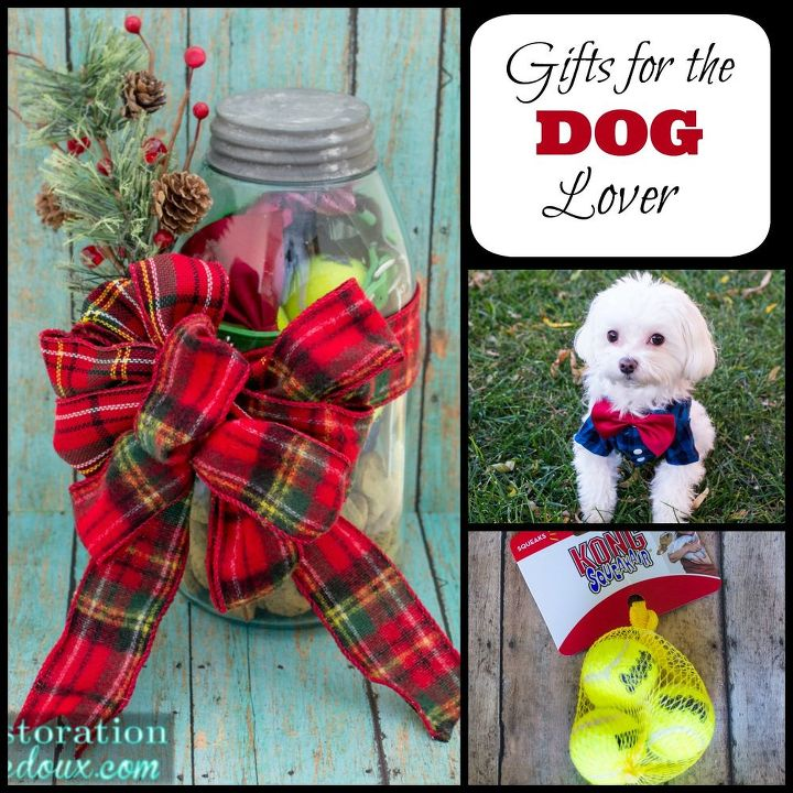 Crafts For Dog Lovers: Mason Jar Gift For The Dog Lover