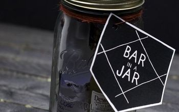 Bar in a Jar - Gift Idea for Men #masonjarchristmasgiftideas #DIYGIFTS