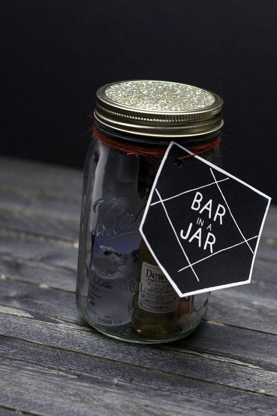 bar in a jar gift idea for men masonjarchristmasgiftideas diygifts, crafts