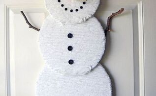 the perfect snowman decor to last all winter, crafts, seasonal holiday decor