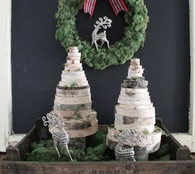Attirant Diy Wood Slice Christmas Trees, Christmas Decorations, Crafts, Seasonal  Holiday Decor