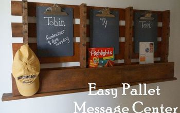 EASY Pallet Message Board