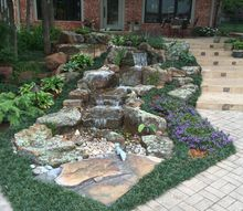 pondless waterfalls, landscape, ponds water features