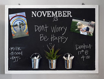 Chalkboard And Bulletin Board In One Paint Crafts Wall Decor