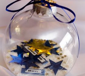 Ordinary Clear Christmas Ornament Ideas Part - 14: Christmas Ornament Diy Gift That Is A Gorgeous Personalized Keepsake, Christmas  Decorations, Crafts,
