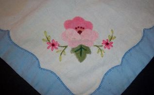 q framing old linens, home decor, wall decor, The design to be framed Very old linen