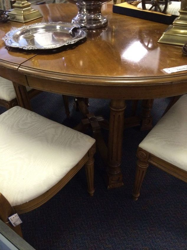 take a seat dining room furniture makeover, dining room ideas, painted furniture, reupholster